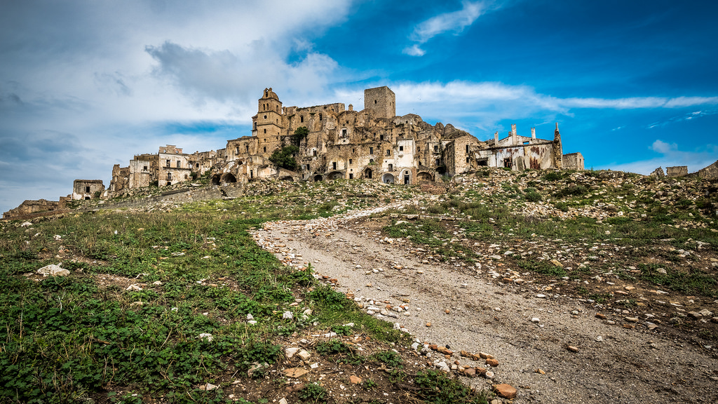 italia ghost town