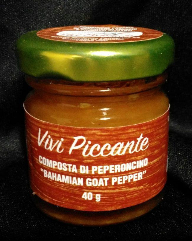 Le composte di peperoncino dell'Azienda Agricola ViviPiccante