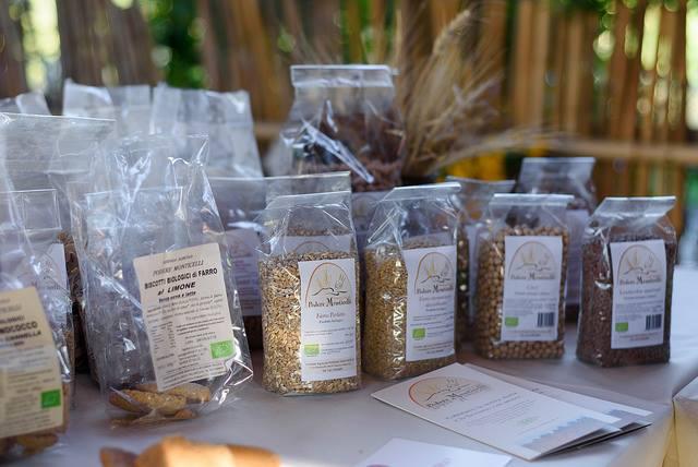 Alcuni prodotti dell'Azienda Agricola Podere Monticelli