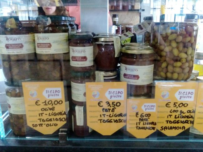 I prodotti dell'Azienda Agricola Novaro Nicola