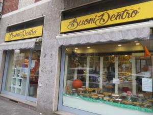 Il negozio di Buoni Dentro a Milano