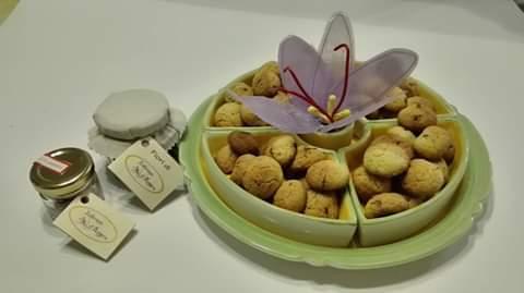 Azienda Agricola Le Sinergie biscotti e confetture allo zafferano
