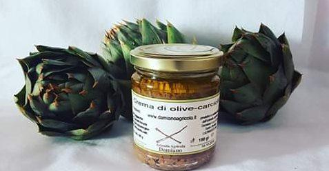 Azienda Agricola Damiano Crema di Olive e Carciofi