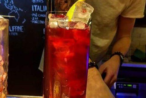 Azienda Agricola Nuova Colombara Cocktail realizzato con il succo di melograno