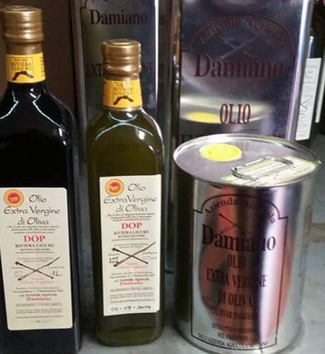L'Olio Extra Vergine di Oliva DOP dell'Azienda Agricola Damiano