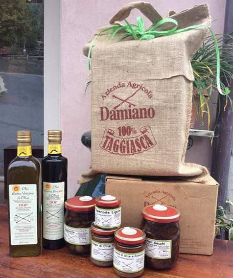 Olio e altri prodotti dell'Azienda Agricola Damiano