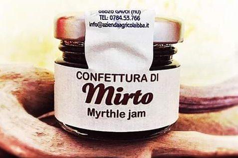 Confettura di Mirto, una delle specialità dell'Azienda Agricola Ibba
