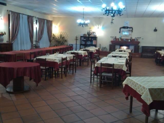 Il ristorante dell'Agriturismo La Preta Tarantini