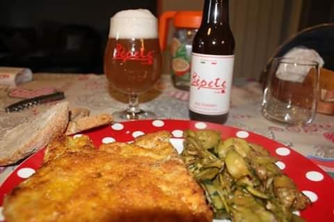 La birra di Bepete Bam con i piatti della tradizione