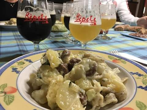 Le birre Bepete Bam con i piatti della tradizione